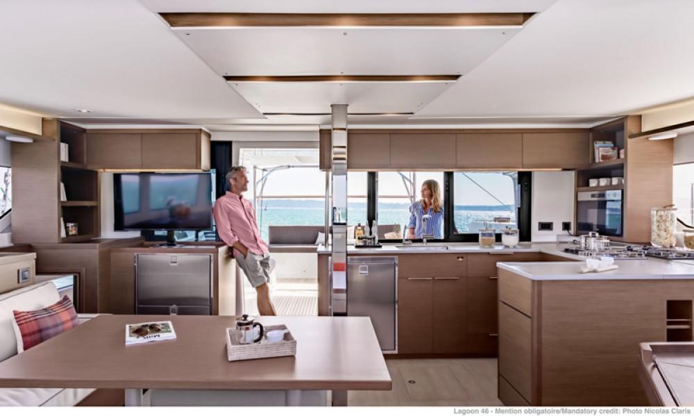 Rental yacht Laurium - Lagoon Lagoon 46 on SamBoat