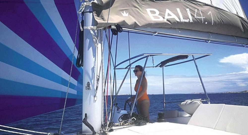 Bali Catamaran Bali 4.1 between personal and professional Athens