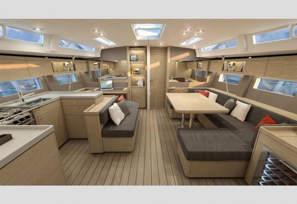 Boat rental Tourlos cheap Oceanis 51.1