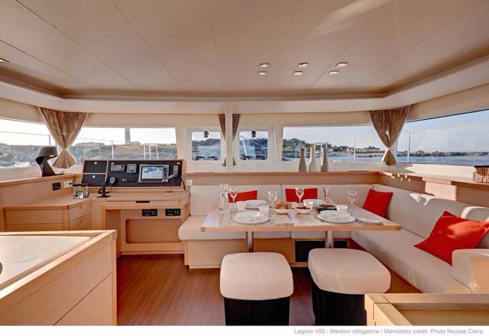 Boat rental  cheap Lagoon 450 F