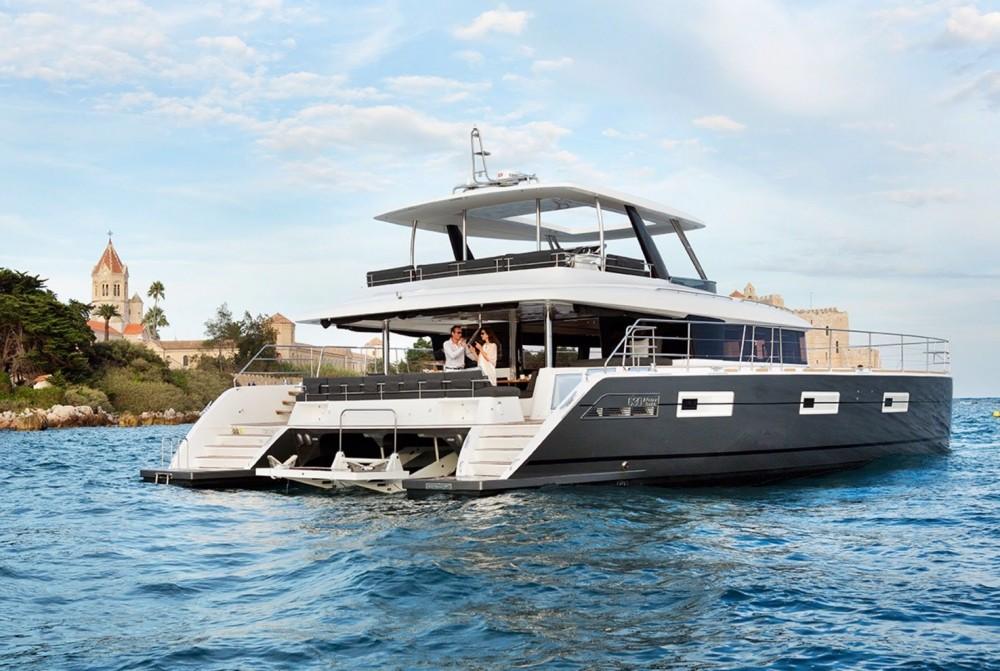 Rental Catamaran in Athens - Lagoon Catamaran Lagoon