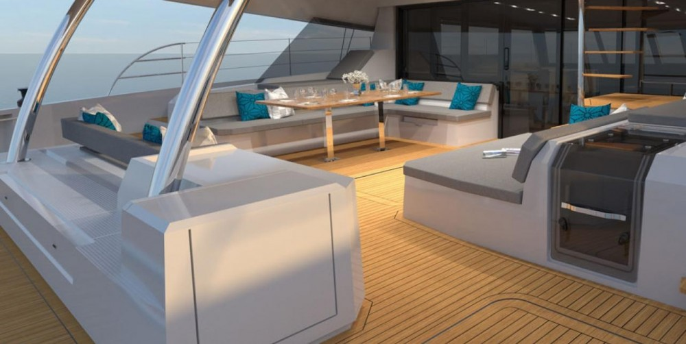 Boat rental Fountaine Pajot Fountaine Pajot 67 Power in Athens on Samboat