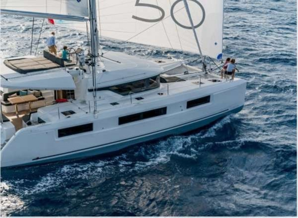 Boat rental Athens cheap Lagoon 50
