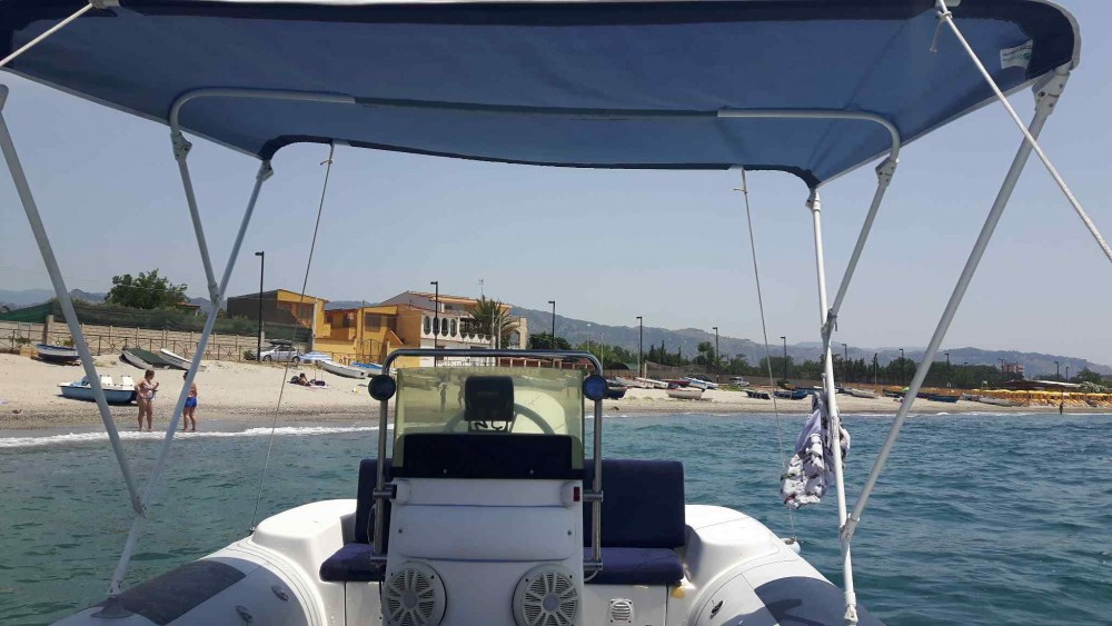 Rental Motor boat Italboat with a permit