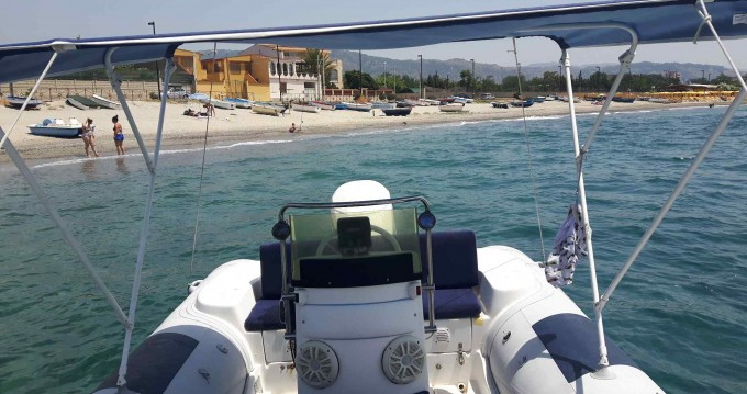 Hire Motorboat with or without skipper Italboat Furnari