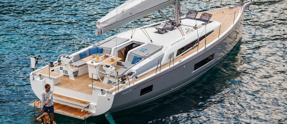 Boat rental Bénéteau Oceanis 46.1 in Peloponnese, Western Greece and the Ionian on Samboat