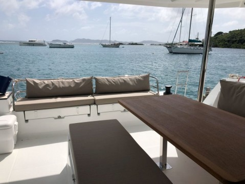 Fountaine Pajot Saona 47 between personal and professional Tortola