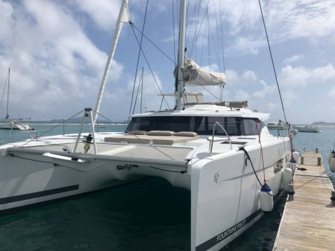 Boat rental Fountaine Pajot Saona 47 in Tortola on Samboat