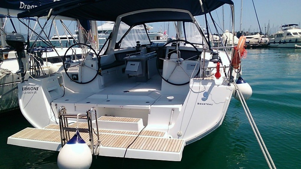 Boat rental Ajaccio cheap Oceanis 48