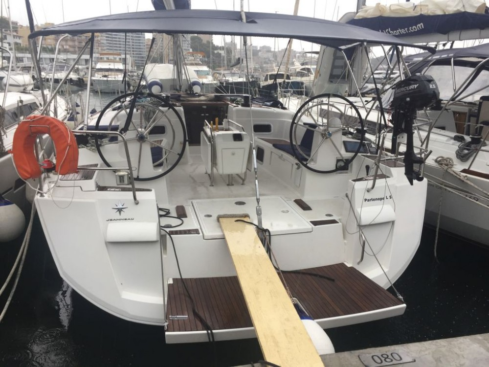Rental Sailboat in Athens - Jeanneau Sun Odyssey 509
