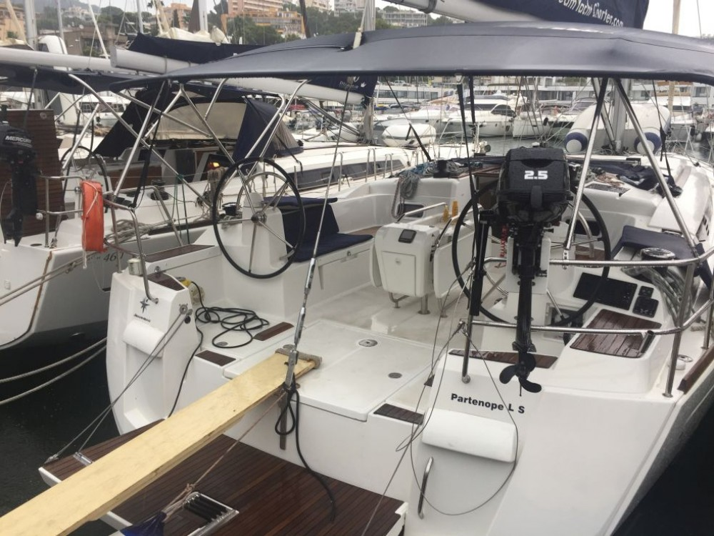 Jeanneau Sun Odyssey 509 between personal and professional Athens