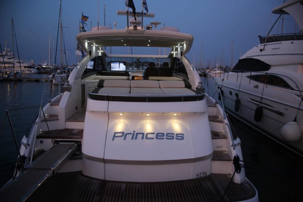Rental yacht Marina Gouvia - Princess Princess V53 on SamBoat