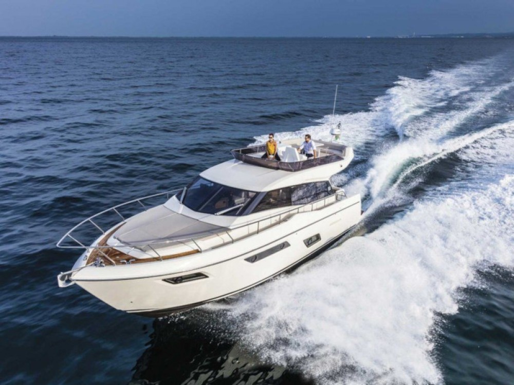 Hire Motor boat with or without skipper Ferreti Podstrana