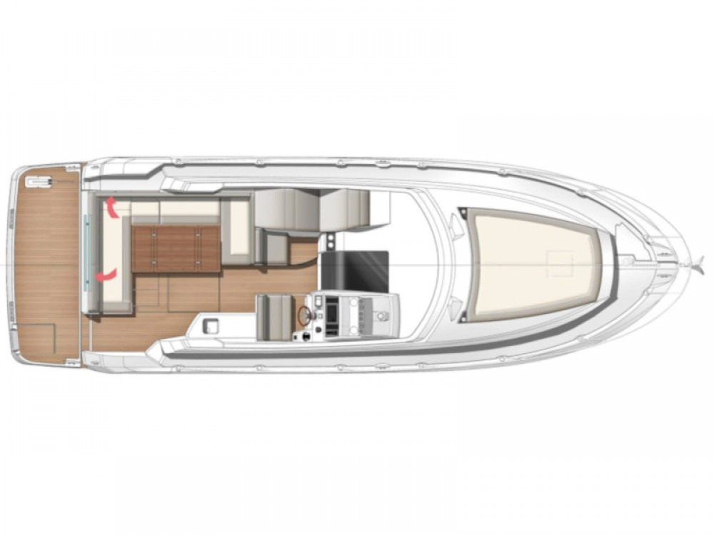 Jeanneau Leader 36 between personal and professional