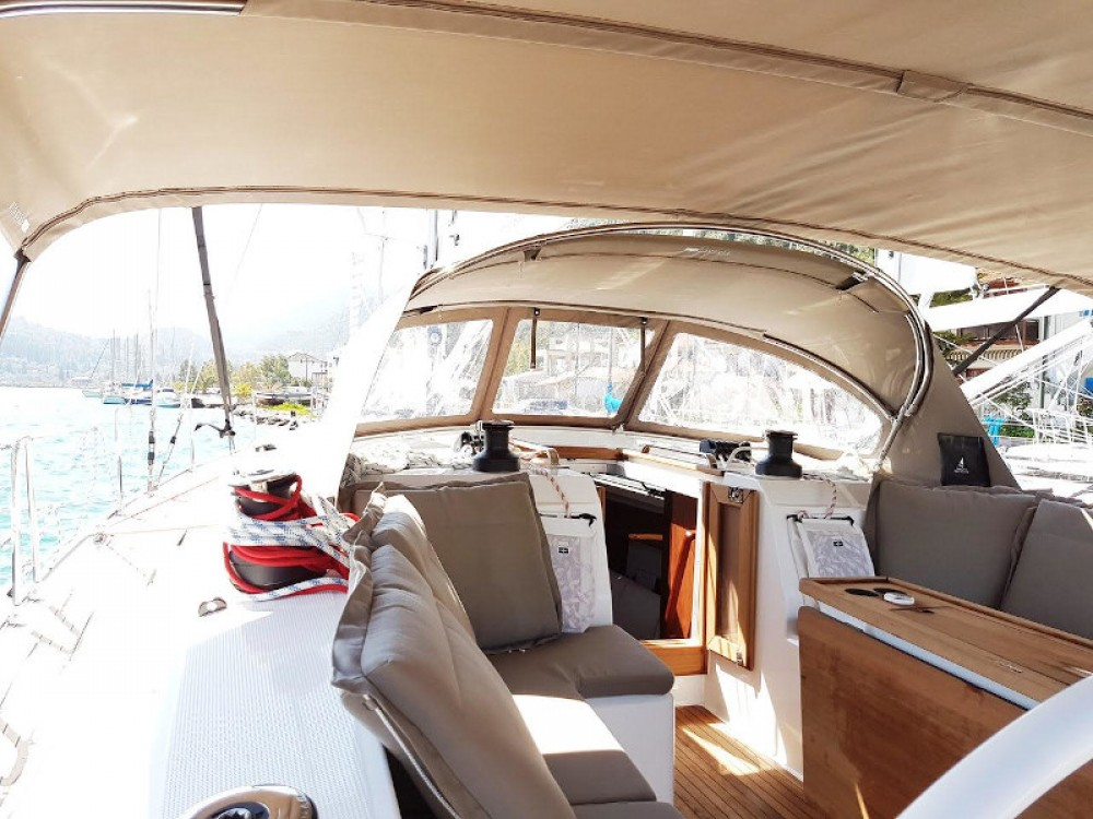 Boat rental Fethiye cheap Bavaria Cruiser 46 Style
