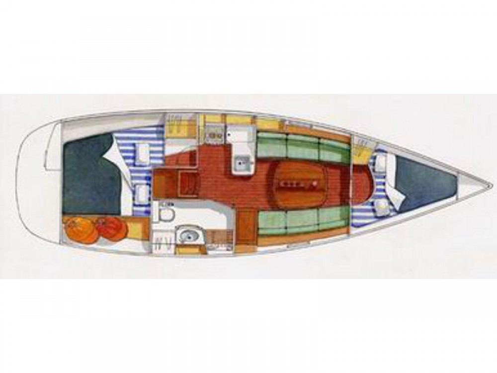 Rental Sailboat in Port de Bormes - Bénéteau Oceanis 323