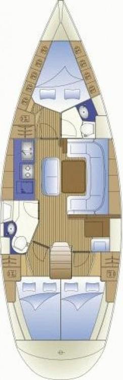 Boat rental Vibo Valentia cheap Bavaria 41