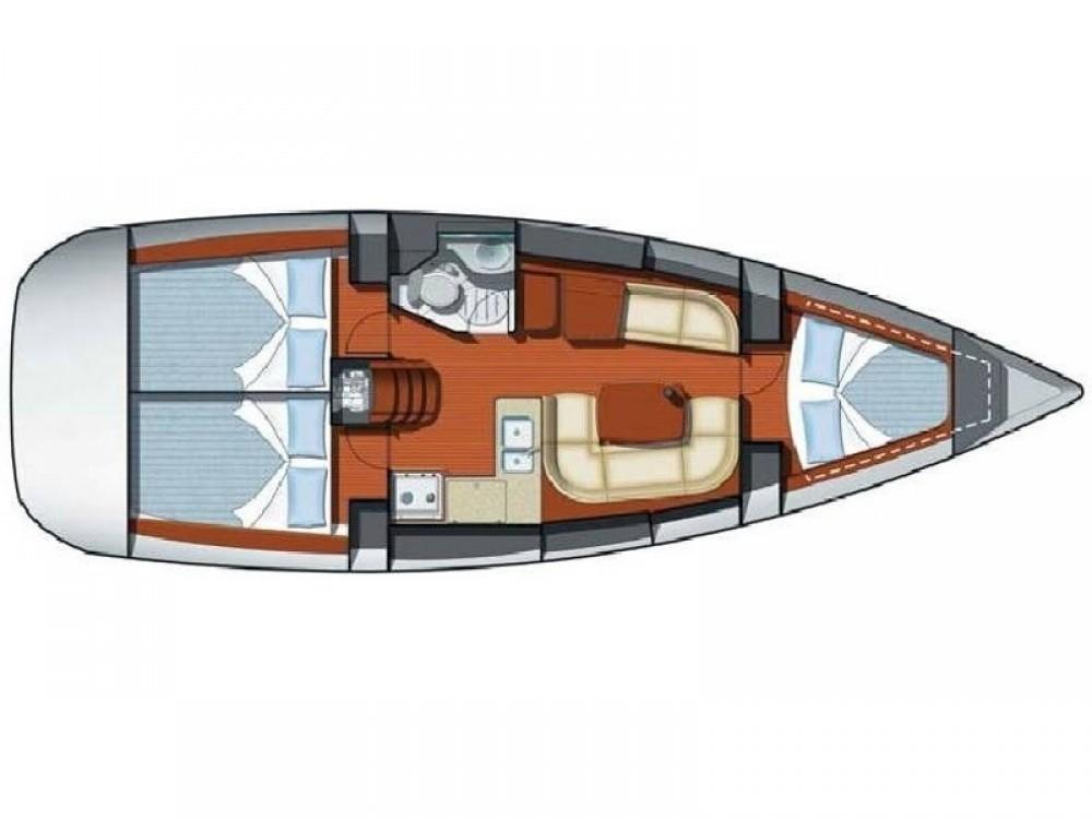 Boat rental Jeanneau Sun Odyssey 37 in Marmaris on Samboat