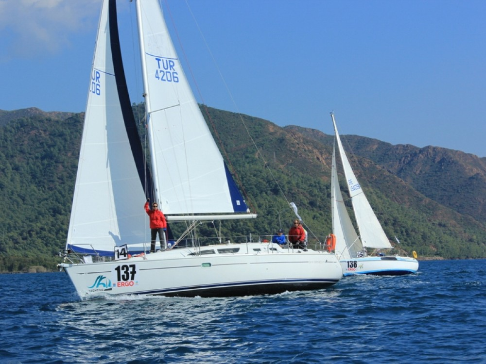 Jeanneau Sun Odyssey 37 between personal and professional Marmaris