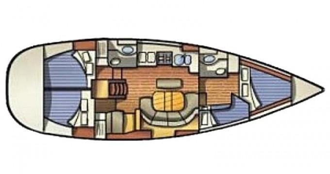 Rental Sailboat in Marmaris - Bénéteau Oceanis 411