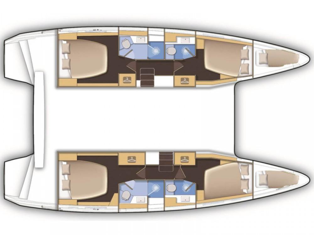 Rental Catamaran in Alimos Marina - Lagoon Lagoon 39