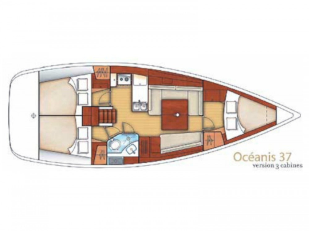 Boat rental Alimos Marina cheap Oceanis 37