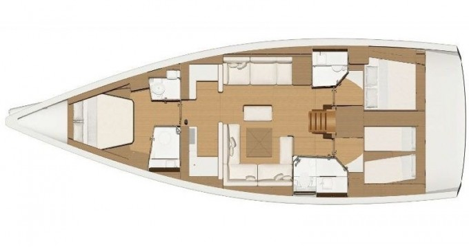 Dufour Dufour 520 Grand Large between personal and professional Marmaris