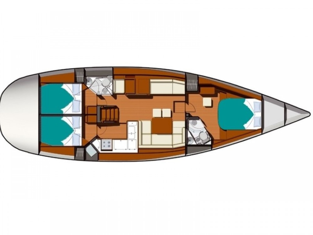 Jeanneau Sun Odyssey 50 DS between personal and professional Marmaris