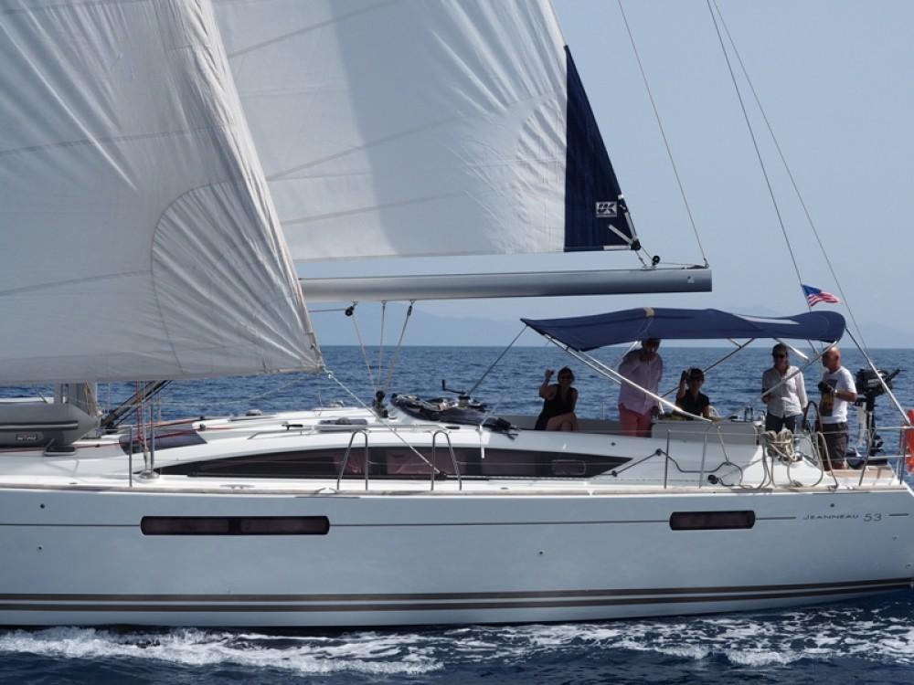 Rental Sailboat in Marmaris - Jeanneau Jeanneau 53
