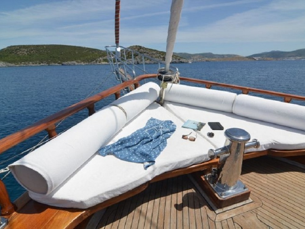 Gulet Smyrna between personal and professional Bodrum