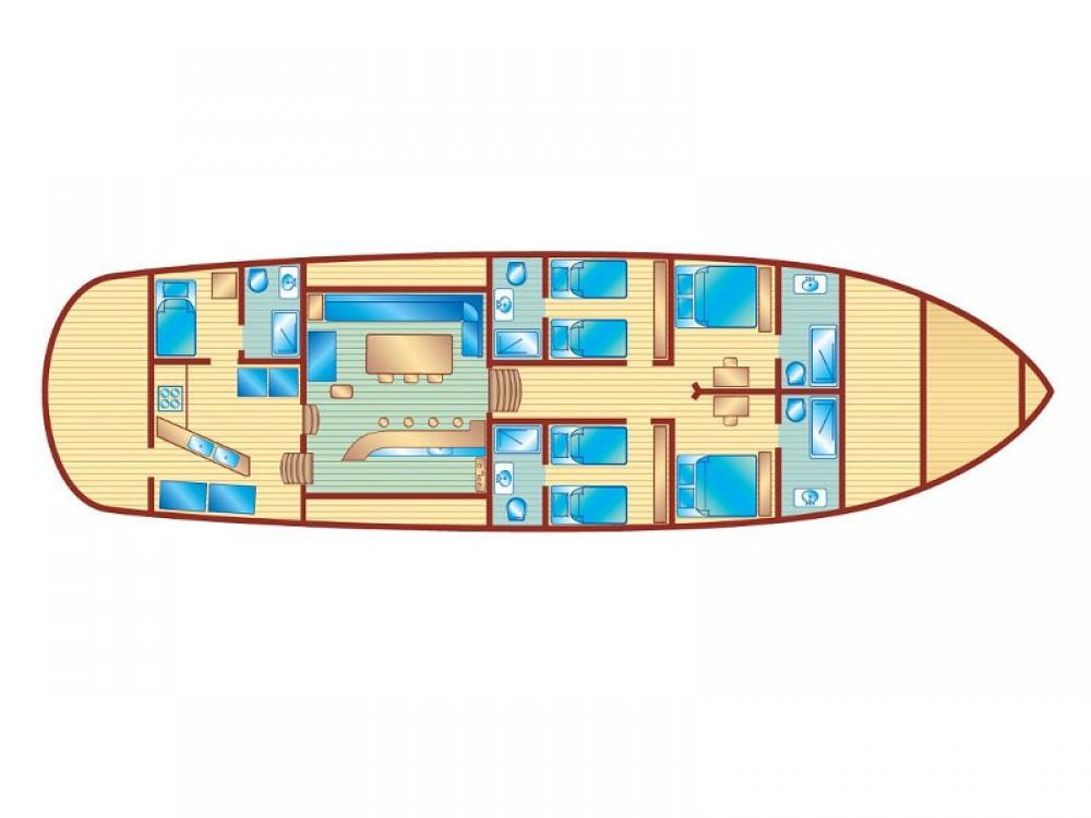 Boat rental Bodrum cheap Gulet Smyrna