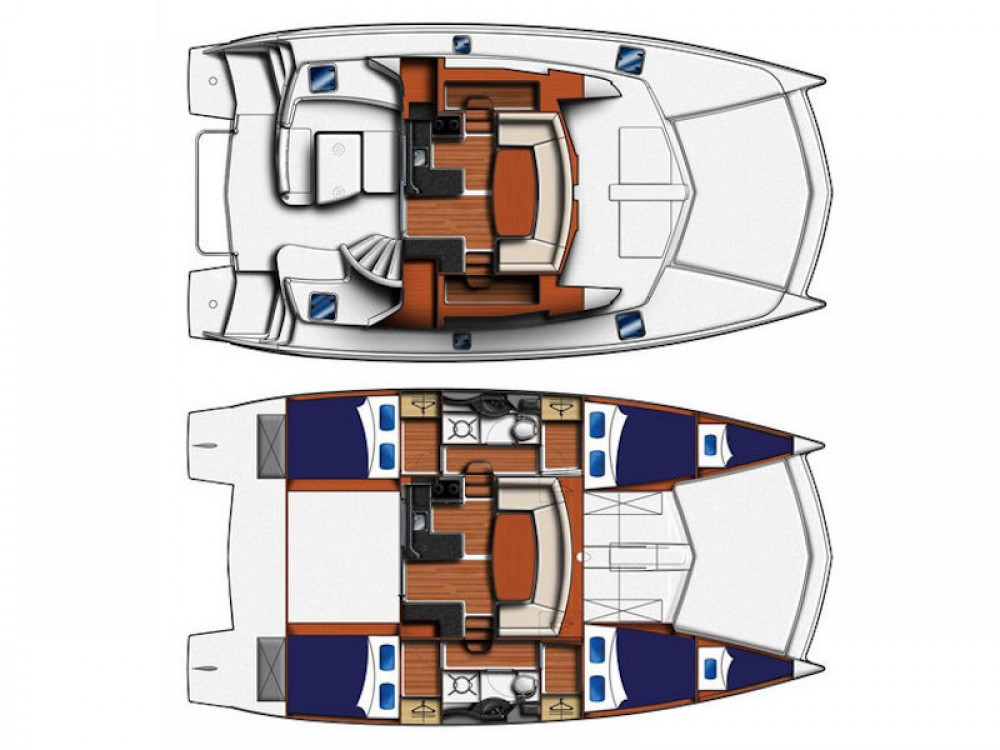 Rental Catamaran in Šibenik - Leopard Leopard 39 PC