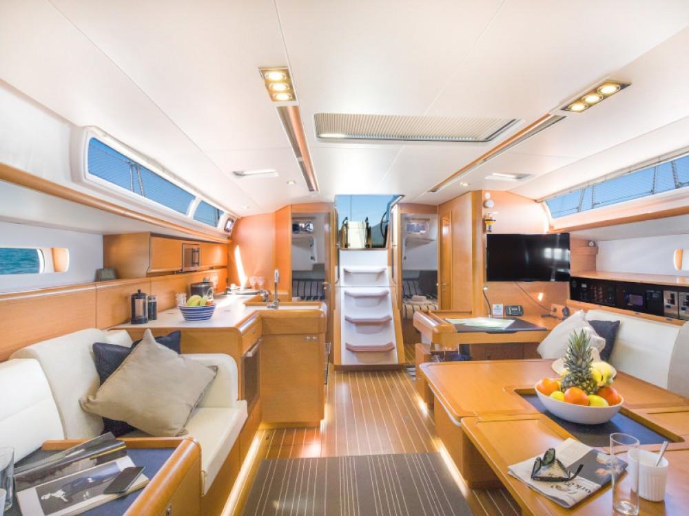 Rental Sailboat in Marina Gouvia - Jeanneau Sun Odyssey 509