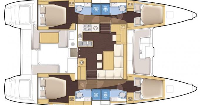 Boat rental Alimos cheap Lagoon 450 F