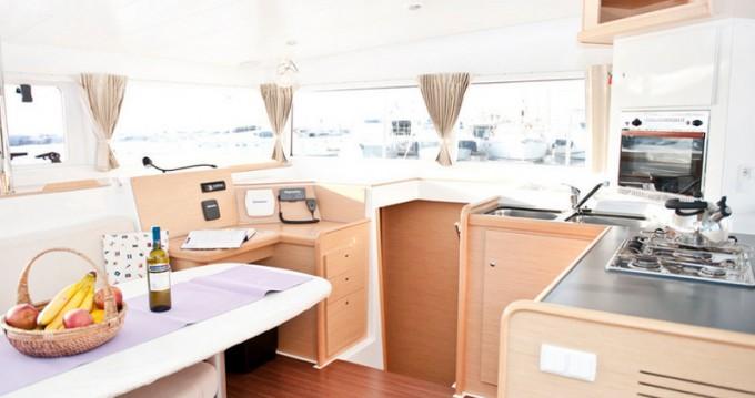 Boat rental Alimos cheap Lagoon 400