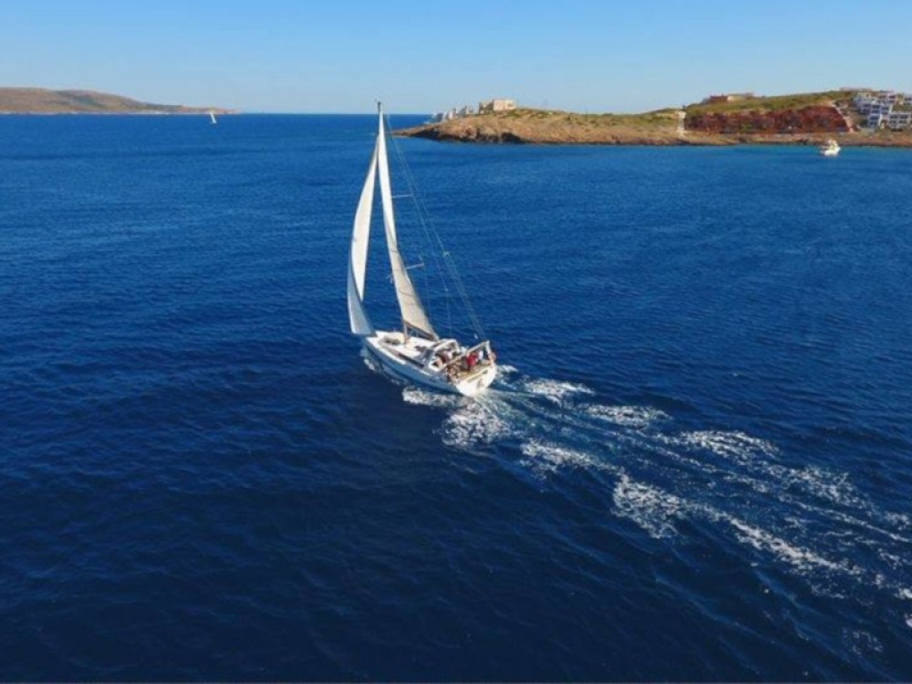 Boat rental Thassos cheap Oceanis 45