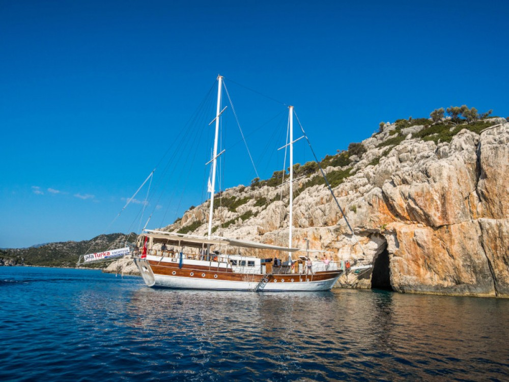 Boat rental  Gulet- Alaturka 81 in Fethiye on Samboat
