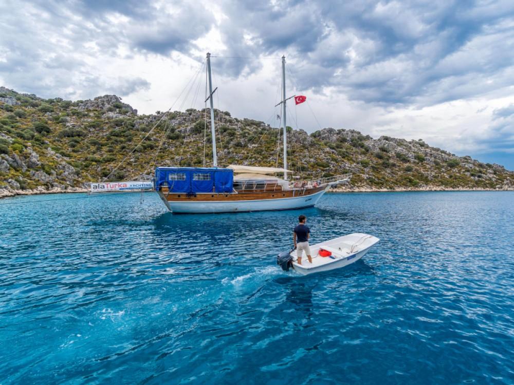 Boat rental  Gulet- Alaturka 1 in Fethiye on Samboat