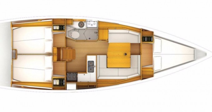 Hire Sailboat with or without skipper Jeanneau Porto Cheli