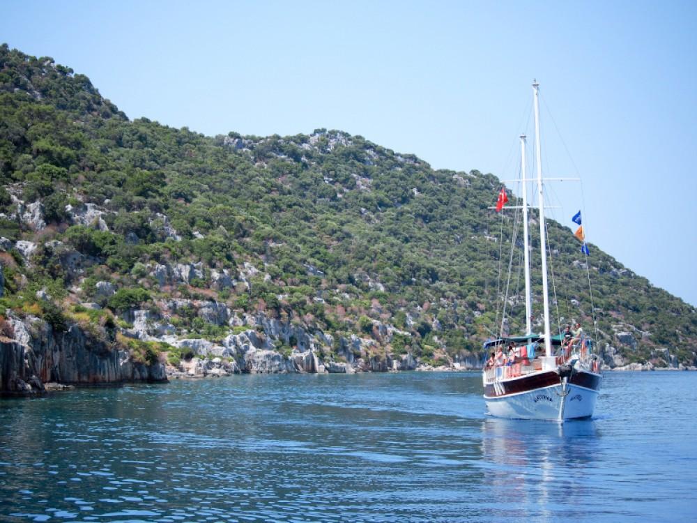 Rental Sailboat in Fethiye -  Gulet- Alaturka 1