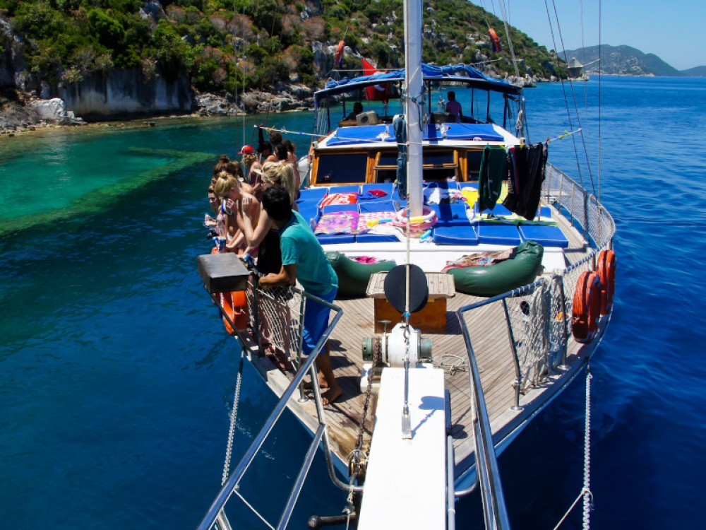 Boat rental Fethiye cheap Gulet- Alaturka 1