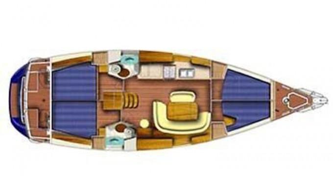 Rental yacht Λαύριο - Jeanneau Sun Odyssey 45 on SamBoat