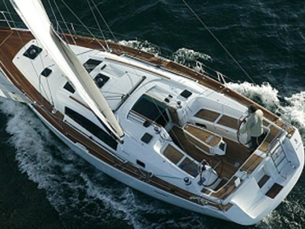 Boat rental Laurium cheap Oceanis 40
