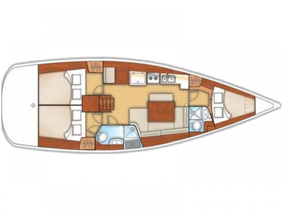 Rental Sailboat in Laurium - Bénéteau Oceanis 40