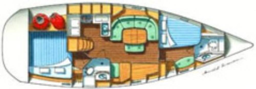Boat rental Laurium cheap Oceanis 37