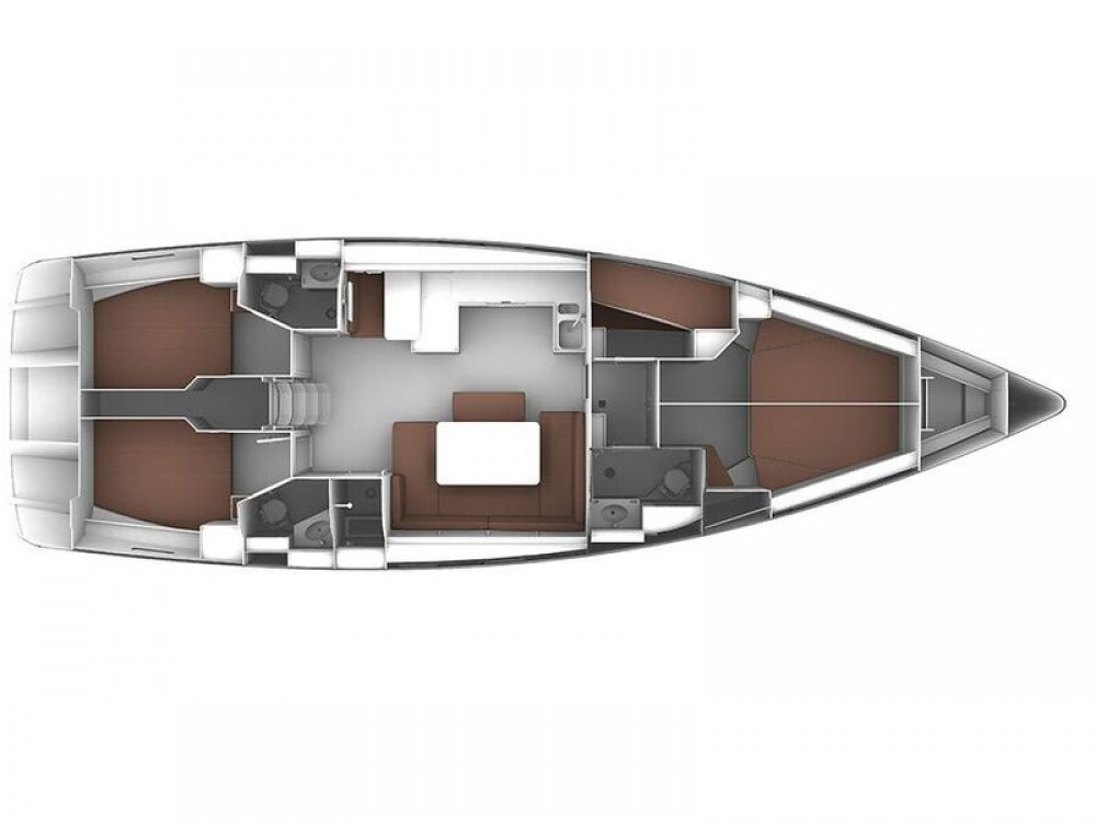 Boat rental Bavaria Bavaria Cruiser 51 in Laurium on Samboat