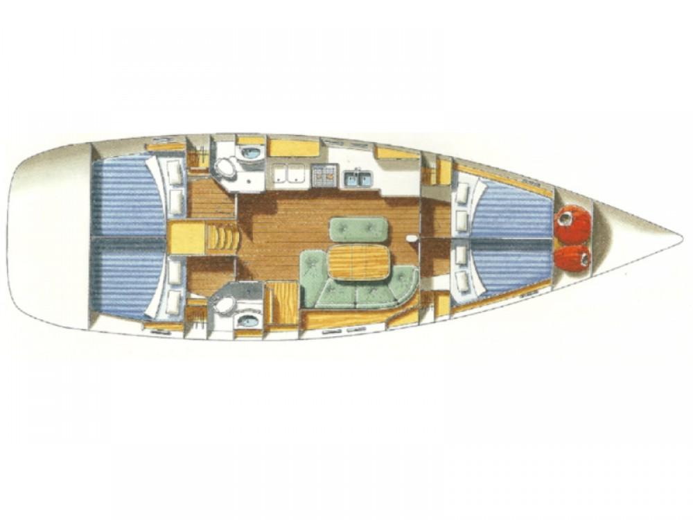 Rental yacht Álimos - Bénéteau Oceanis 473 on SamBoat