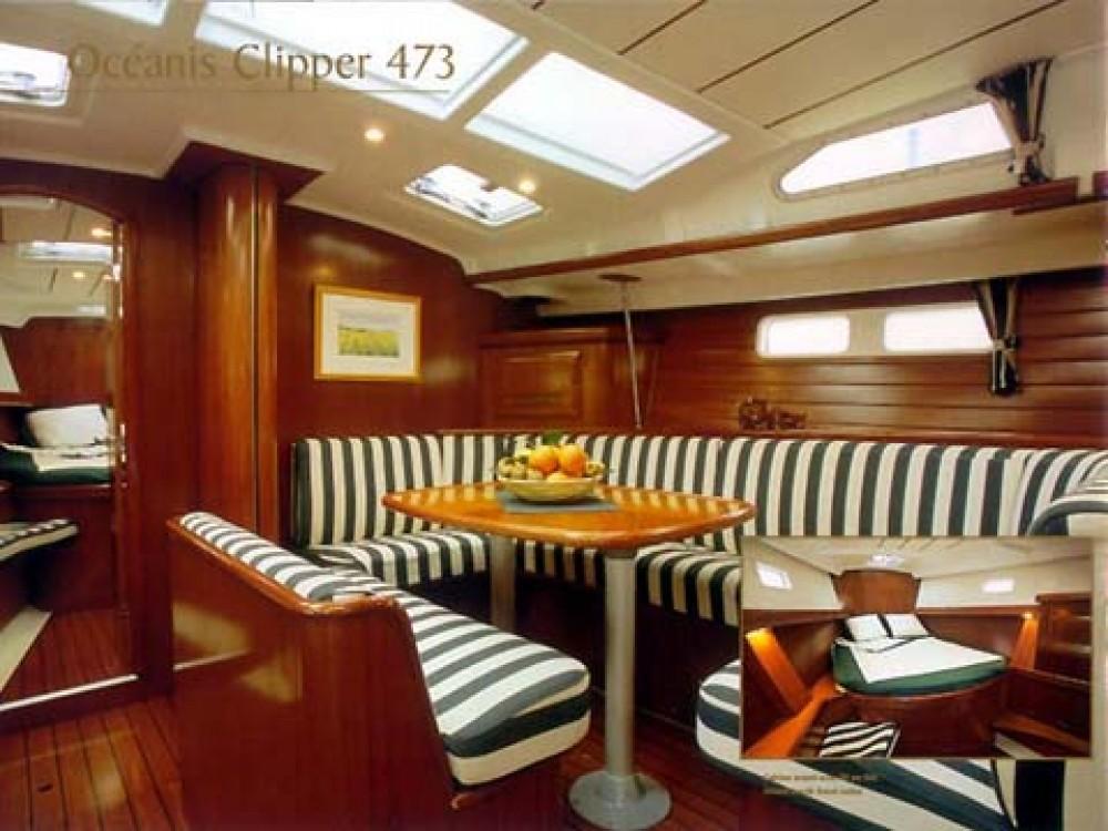 Boat rental Alimos Marina cheap Oceanis 473