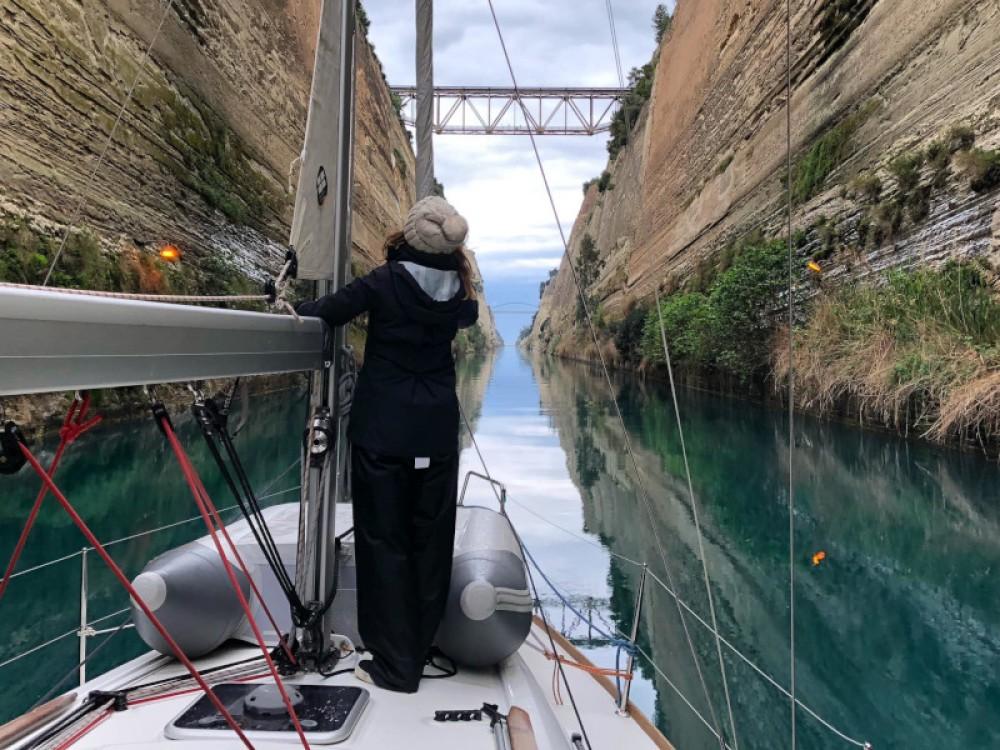 Rental Sailboat in Kontokali - Jeanneau Sun Odyssey 389
