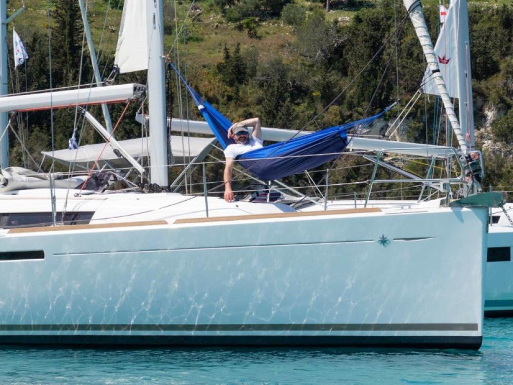 Jeanneau Sun Odyssey 389 between personal and professional Marina Gouvia